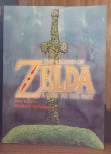 The cover art for the collected edition of Shotaro Ishinomori's The Legend of Zelda: A Link to the Past comic.
